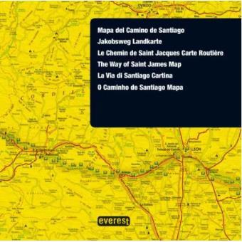 O Caminho de Santiago - Mapa