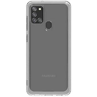 Capa Glitter Samsung para Galaxy A21s - Transparente