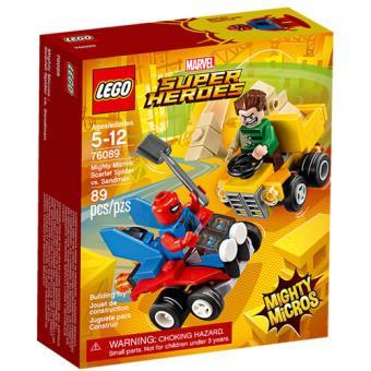 LEGO Marvel Super Heroes 76089 Mighty Micros: Spider-Man vs. Sandman