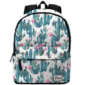 Mochila Escolar Oh My Pop! Cactus