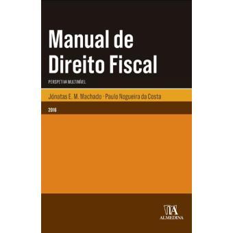 Manual do direito fiscal jnatas e m machado compra livros na manual do direito fiscal fandeluxe Choice Image