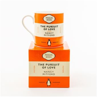 Caneca The Pursuit of Love Penguin Books - Laranja
