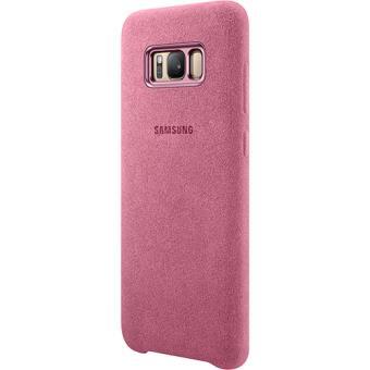 2303ab265 Capa Samsung Alcantara para Galaxy S8+ - Rosa - Bolsa Telemóvel ...