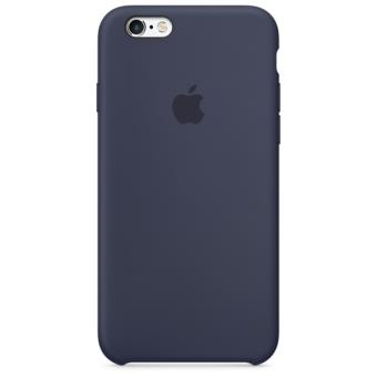 Apple Capa Silicone para iPhone 6s | 6 (Azul Meia-noite)