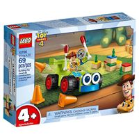 LEGO Disney Pixar Toy Story 4 10766 Woody e RC
