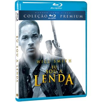 5b39dfec71b Eu Sou a Lenda - Francis Lawrence - Will Smith - Alice Braga - Blu ...