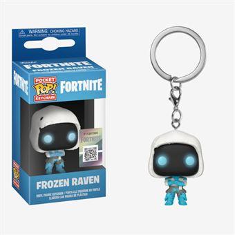 Funko Pop! Porta-Chaves Fortnite: Frozen Raven