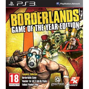 Borderlands GOTY PS3