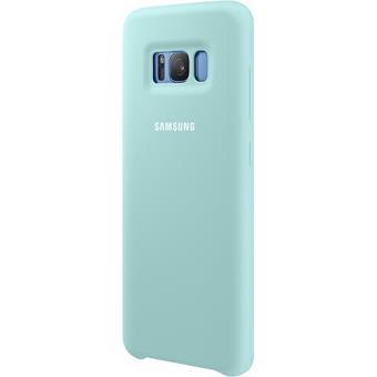 Capa Silicone Samsung para Galaxy S8 - Azul