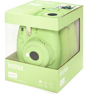 Fujifilm instax mini 9 - Verde Lima + Estojo + 10 Foto