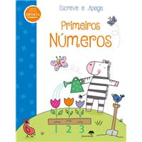 Escreve e Apaga - Primeiros Números