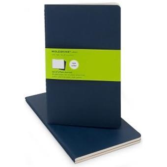 Moleskine: Caderno Liso Grande Azul