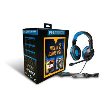 Pack Doom + Tomb Raider + Auscultadores - PS4