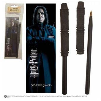 Harry Potter: Severus Snape- Caneta e Marcador de Livros