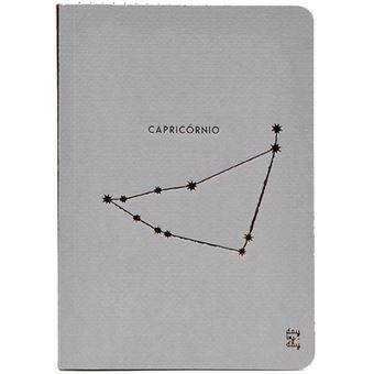 Caderno Liso Signo Capricórnio Bolso