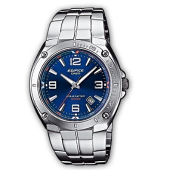 Casio Relógio Edifice EF-126D-2AVEF (Prateado/Azul)