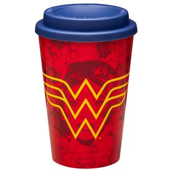 Copo de Viagem Wonder Woman