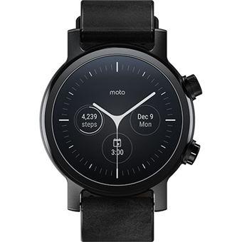 Smartwatch Motorola moto360 - Phantom Black