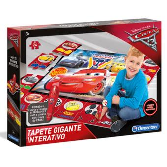 Tapete Gigante Interativo - Disney Carros 3 - Clementoni