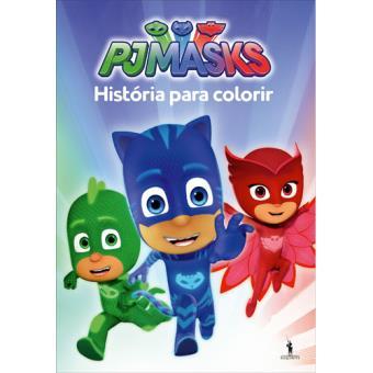 PJ Masks - História para Colorir