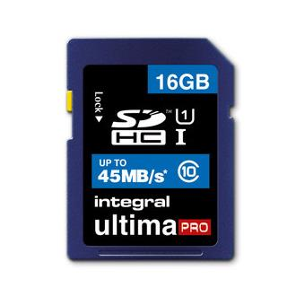 Integral UltimaPro SDHC 16GB 45MB/S Classe 10
