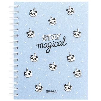 Caderno Pontilhado Mr. Wonderful - Stay Magical A5
