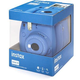Fujifilm instax mini 9 - Azul Cobalto + Estojo + 10 Foto