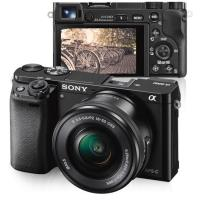 Sony Alpha α6000 + SEL1650 16-50mm f/3.5-5.6 PZ OSS (Preto)