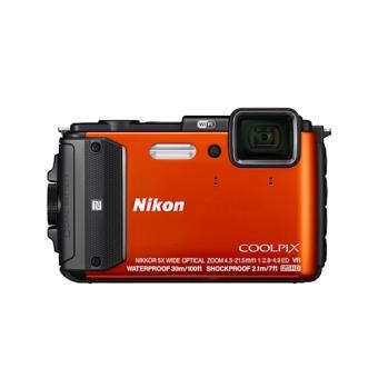 """Nikon COOLPIX AW130 Câmara compacta 16MP 1/2.3"""" CMOS 4608 x 3456pixels Laranja"""