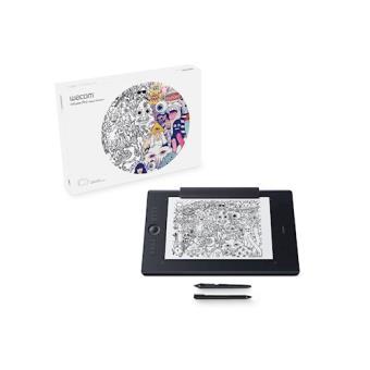 Wacom Intuos Pro Paper L South 5080lpi 311 x 216mm Preto mesa digitalizadora