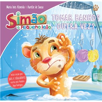 Simão, O Pequeno Leão - Livro 8: Tomar Banho? Outra Vez?