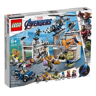 LEGO Marvel Avengers Movie 4 76131 O Combate no Quartel dos Vingadores