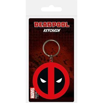 Porta-Chaves de Borracha Deadpool