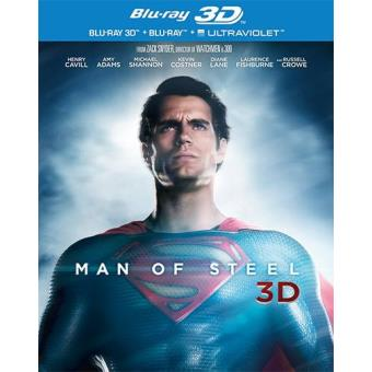 Man of Steel (Blu-ray 3D + 2D)