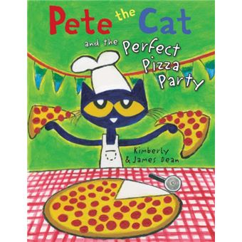 Pete the cat and the perfect pizza