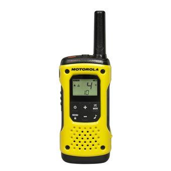 Motorola TLKR T92 H2O rádio two-way 8 canais Preto, Amarelo
