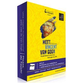 Fã Pack FNAC Meet Vincent Van Gogh – Família   Preço: 33€ Pack + 2.44€ Custos de Operação
