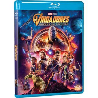 Vingadores: Guerra do Infinito - Blu-ray