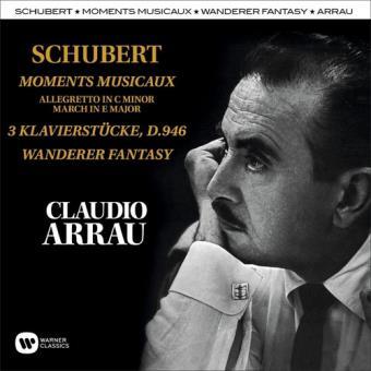 Schubert: Moments Musicaux, Klavierstücke & Wanderer Fantasy (2CD)