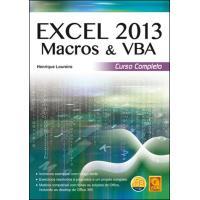 Excel 2013 Macros & VBA