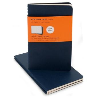Moleskine: Caderno Pautado Bolso Azul