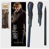 Harry Potter: Ron Weasley- Caneta e Marcador de Livros