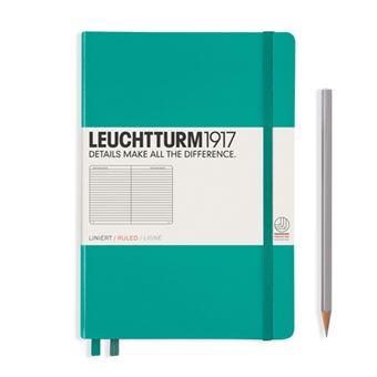 Caderno Pautado Leuchtturm A5 Esmeralda