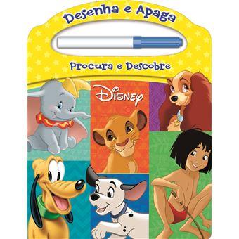 Disney: Desenha e Apaga - Procura e Descobre