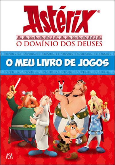 Asterix O Domínio dos Deuses - O Meu Livro de Jogos
