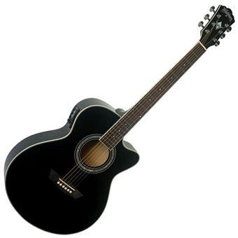 Washburn Guitarra Acústica GTRA.EA-12 Black