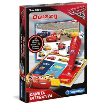 Quizzy - Disney Carros 3 - Clementoni