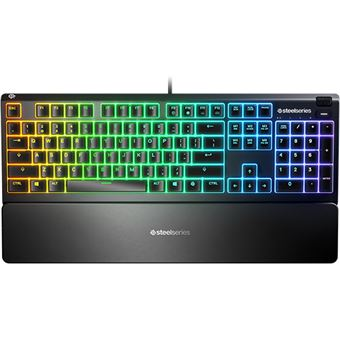 Teclado Gaming Steelseries Apex 3 - Layout PT