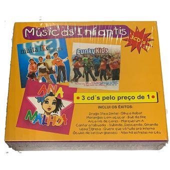 Músicas Infantis - 3CD
