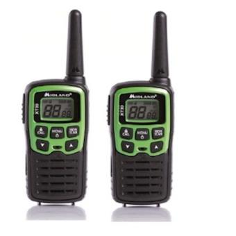 Midland XT30 16channels 446.00625 – 446.09375MHz Preto, Verde rádio two-way